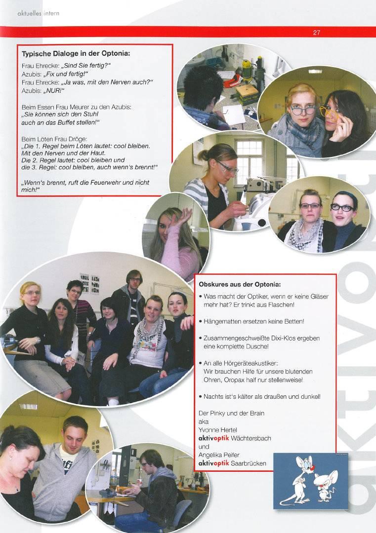 Azubi-Werkstattseminar I Januar 2011